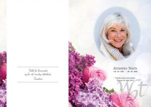 Salmehefte 822 Blomsterharmoni med eget bilde