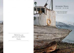 Salmehefte 853 Fiskebåt